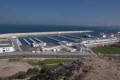 Neuer Fischereihafen in Tanger