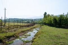 Hinter dem Dorf Avgia