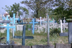 Friedhof in Letea