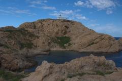 Leuchtturm auf der Insel La Pietra