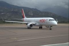 Unser Flugzeug für den Rückflug.