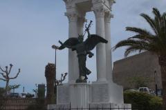 Calvi, Denkmal an der Zitadelle