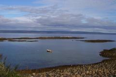 Blick auf den Varangerfjord