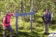 Beginn des Wanderweges nach Sallivaara by Seija