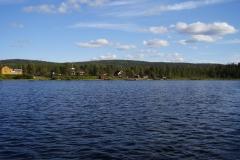 Auf dem Lemmenjoki by Seija