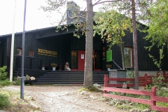 Eingang zu den Ausstellungen