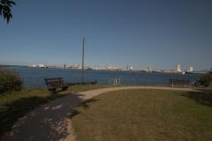 Blick zm Überseehafen