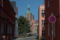 Blick zur Nikolaikirche