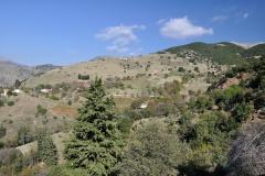 Landschaft nahe Korfes