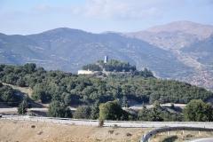Denkmal nahe dem Kloster Agia Lavra