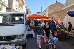Auf dem Markt in Patras