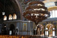 Im Inneren der Agios-Andreas-Kirche