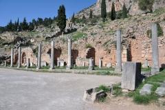 Ausgrabungsstätte Delphi
