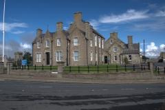 Polizeistation in Lerwick