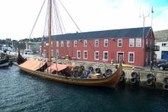 Norwegisches Segelschiff