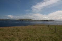Blick zur Insel Mousa