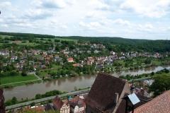 Blick von der Burg Rothenfels
