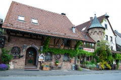 Urige Weinstube in Mespelbrunn