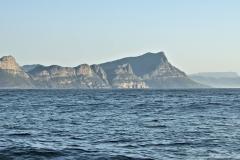 Blick zur Küste