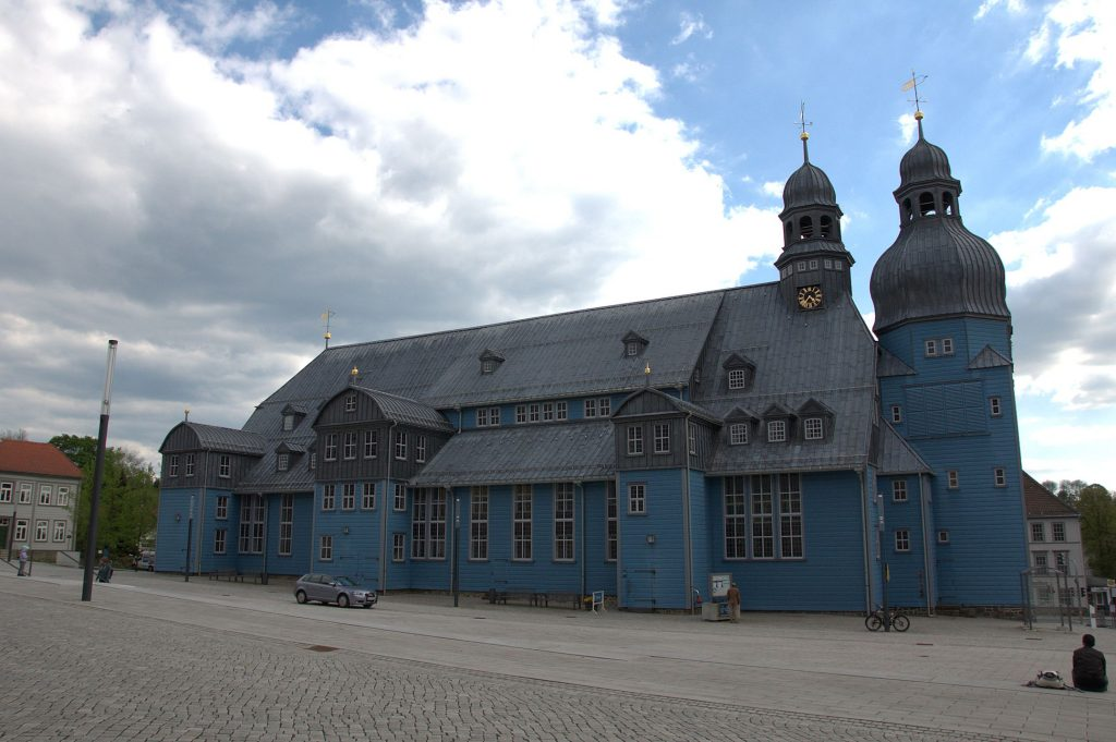 Blaue Kirche in Clausthal-Zellerfeld