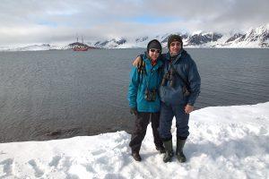 DSC_7893 -1 Petra und Roland auf Spitzbergen