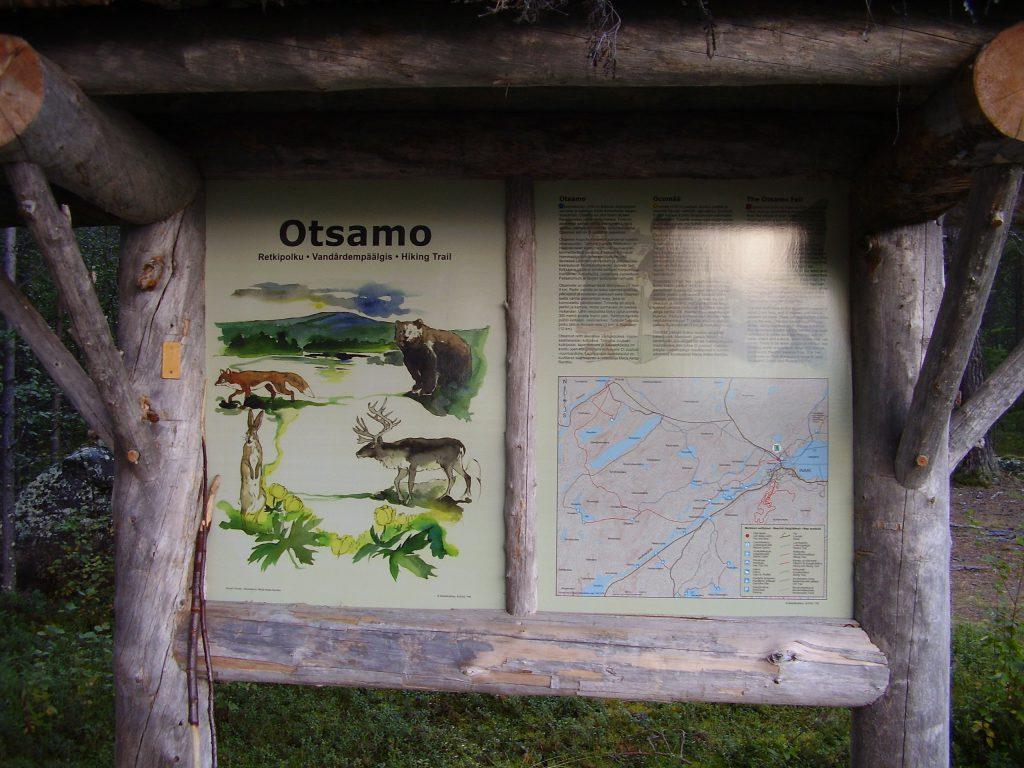Wanderweg zum Otsamo by Seija