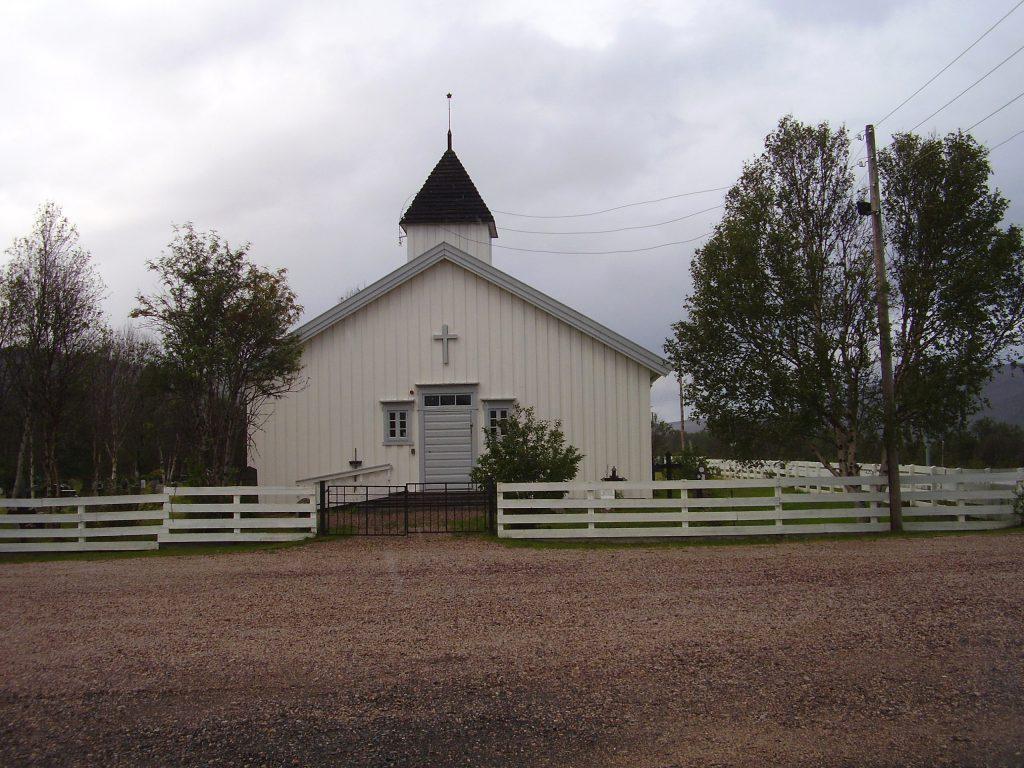 Kirche in Nuorgam by Seija