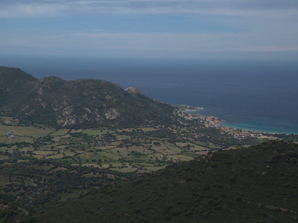 Blick auf Algajola