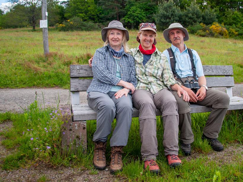 Seija, Petra und Roland
