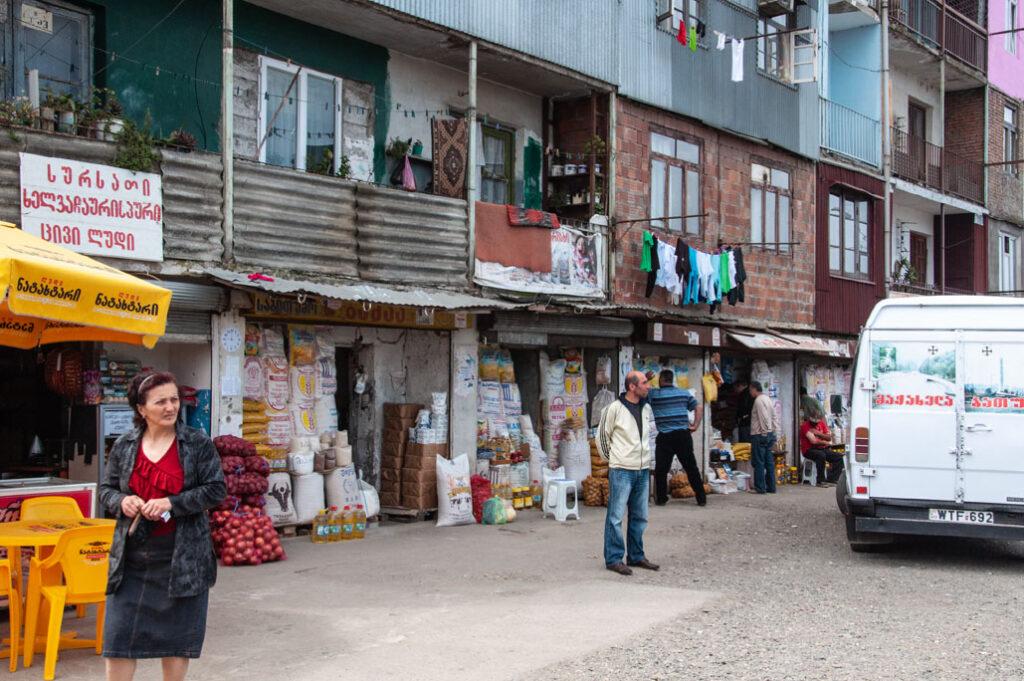 Straßenmarkt in Batumi