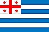 Flagge Adschariens